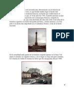 La Plaza de la Bastilla está asociada muy directamente con la historia de Francia