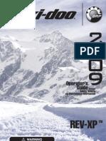 2009 REV-XP Operator Guide