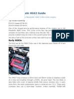 The Mitsubishi 4G63 Guide