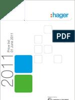 HAGER PRICELIST 01.06.2011 (1)