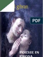 Kahlil Gibran - Poesie in Prosa