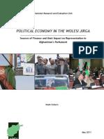 1111E-Political Economy in the Wolesi Jirga 2011 Bf