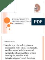 Manajemen Anestesi Pada Uremic Syndrome