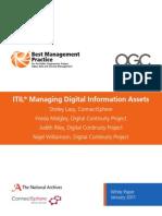 ITIL Digital Assets White Paper