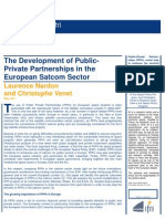The Development of Public-Private Partnerships in the European Satcom Sector