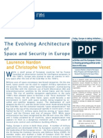The Evolving Architecture for Space and Security in Europe