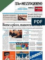 La Gazzetta Del Mezzogiorno 11.08.11