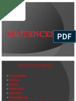 Sentences Ppt