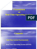 TCIL 18 Real Time Operating Systems