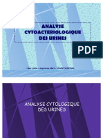Power Point Analyse Cytobacteriologique Des Urines