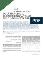 adaptacion tecnologica