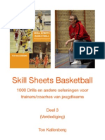 Skill Sheets Basketball Deel 3