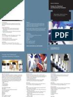 Chemical Analysis Brochure