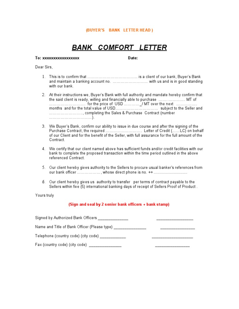 Bank confirmation letter sample 3 spiritdancerdesigns Choice Image