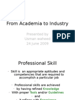 Acadeic to Industry (Electronic and Telecomm) (1)
