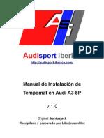 Manual de Instalación de Tempomat en Audi A3 8P