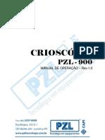 Crioscopio – Manual de operacao PZL900 – completo – Rev.1.0