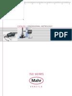 Mahr 3759665 FL Dimensional Metrology Catalog USA 2011 En