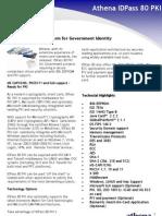 Athena IDPass 80 PKI (10032011)