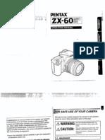 Manual Cámara ZX 60