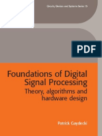 Foundation of Digital Signal Processing