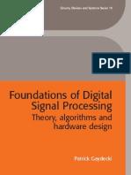 Foundation of Digital Signal Processing