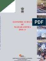 Maharashtra Economic Survey 2010-11