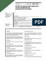 NBR11514 NB-1333 - 1990 - Controle de acesso para segurança física de instalações de proces...