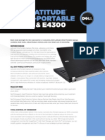 Dell Latitude e4200 and e4300 specs