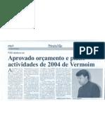 jornal Primeira Mão - 19 de Dezembro de 2003