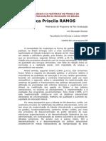 O LÓGICO E O HISTÓRICO NO MODELO DE DESCENTRALIZAÇÃO DA EDUCAÇÃO NO BRASIL