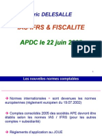 IAS IFRS FISCALITE