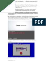 Procedimentos de Instalação e Configuração do Citrix XenServer v5.6