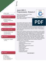 Język ANSI C. Programowanie. Wydanie II