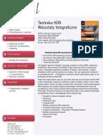 Technika HDR. Warsztaty fotograficzne