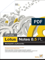 Poczta Lotus Notes 8.5 PL. Niezbędnik użytkownika