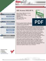 ABC Accessa 2002/XP PL