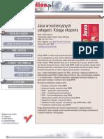 Java w komercyjnych usługach sieciowych. Księga eksperta