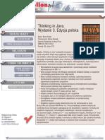Thinking in Java. Wydanie 3. Edycja polska