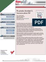 Po prostu Acrobat 5. Tworzenie plików PDF