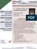 C++. Biblioteka IOStreams i lokalizacja programów