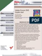 Adobe Encore DVD. Szybki start