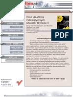 Flash. Akademia matematycznych sztuczek. Wydanie II