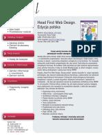 Head First Web Design. Edycja polska (Rusz głową!)