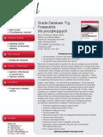 Oracle Database 11g. Przewodnik dla początkujących