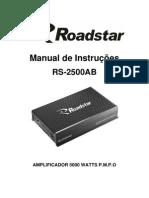 Manual Roadstar RS-2500ab
