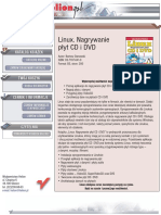 Linux. Nagrywanie płyt CD i DVD