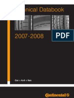 Continental Technical Databook 2007-2008