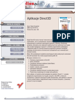 Aplikacje Direct3D