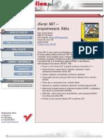 JScript .NET - programowanie. Biblia